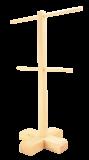 Drewno stojak