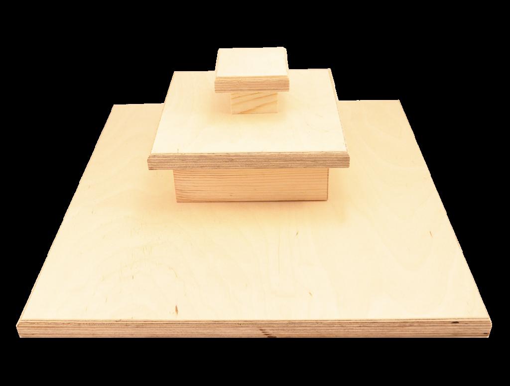 Stand drewniany