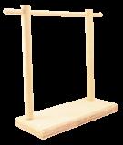 Stojak drewniany