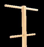 Stojaki drewno