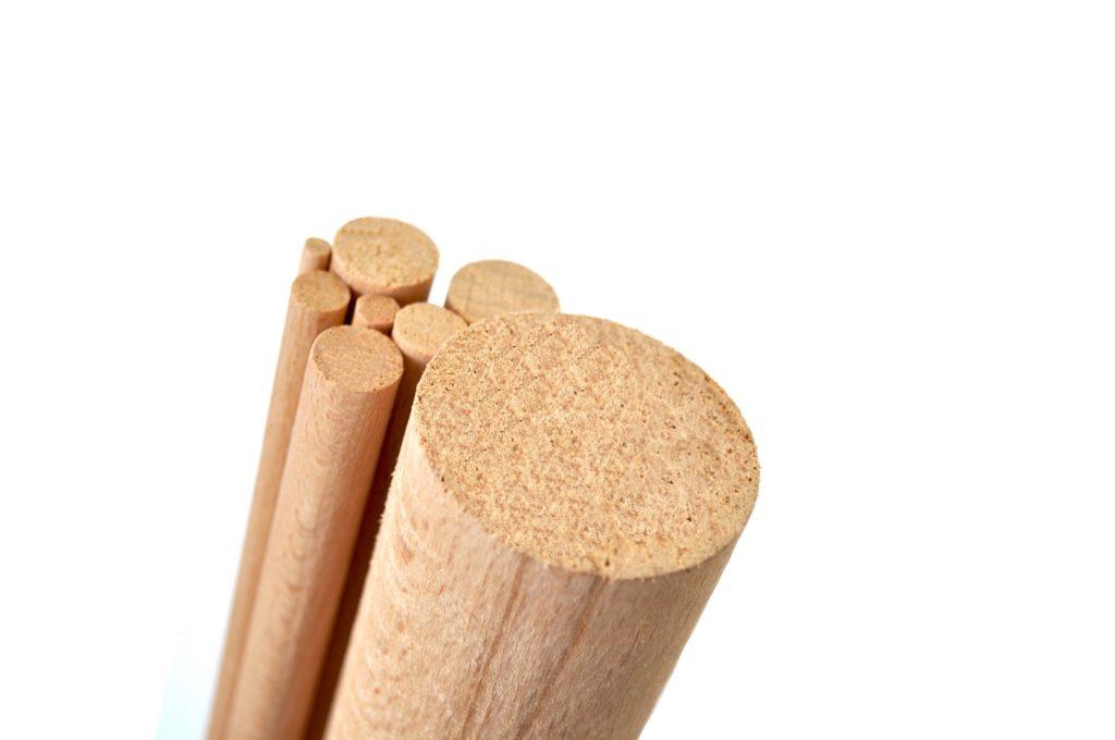 Drążki Drewniane Bukowe